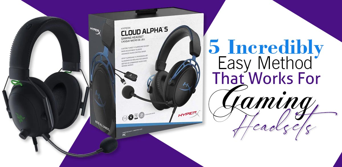 Purple Gaming Headsets