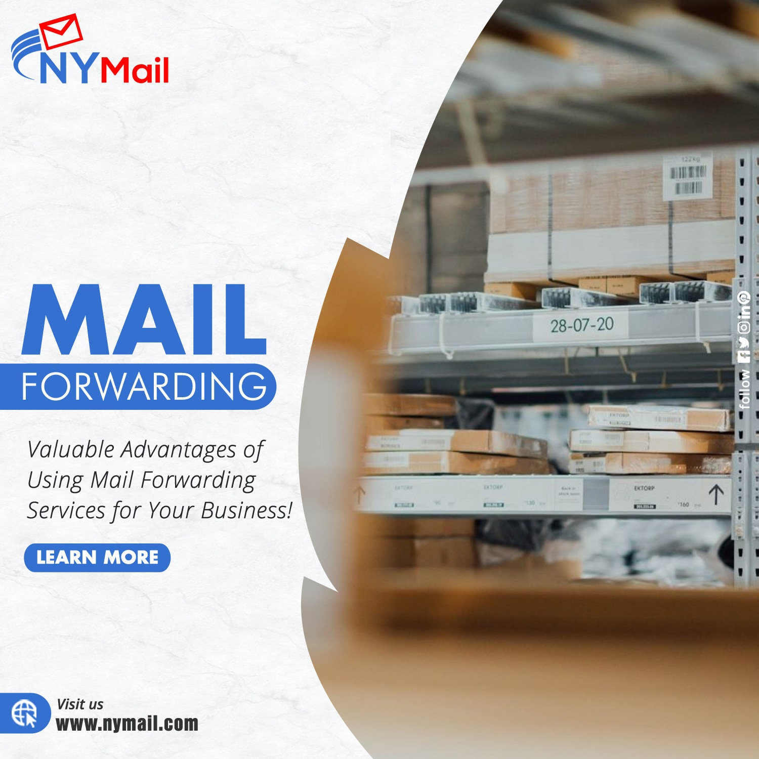 Mail Forwarding Services for Your Business